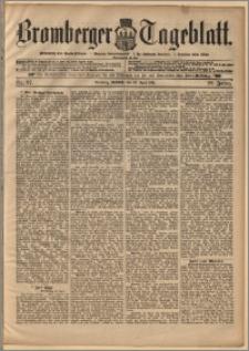 Bromberger Tageblatt. J. 22, 1898, nr 97