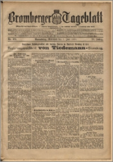 Bromberger Tageblatt. J. 22, 1898, nr 125