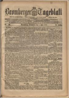 Bromberger Tageblatt. J. 22, 1898, nr 128