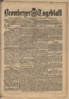 Bromberger Tageblatt. J. 22, 1898, nr 129