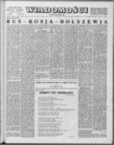 Wiadomości, R. 14 nr 21 (686), 1959