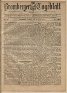 Bromberger Tageblatt. J. 22, 1898, nr 141