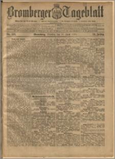 Bromberger Tageblatt. J. 22, 1898, nr 142