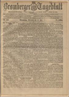 Bromberger Tageblatt. J. 22, 1898, nr 143
