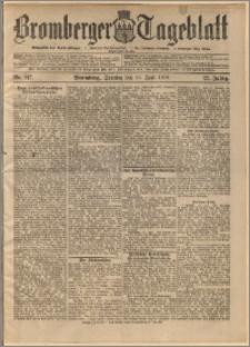 Bromberger Tageblatt. J. 22, 1898, nr 147