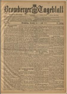 Bromberger Tageblatt. J. 22, 1898, nr 153