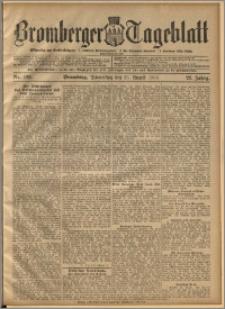 Bromberger Tageblatt. J. 22, 1898, nr 198