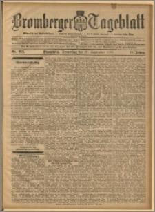 Bromberger Tageblatt. J. 22, 1898, nr 228