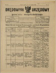 Orędownik Urzędowy Powiatu Mogileńskiego, 1928 Nr 3-4