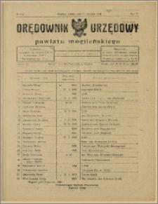 Orędownik Urzędowy Powiatu Mogileńskiego, 1928 Nr 5-6