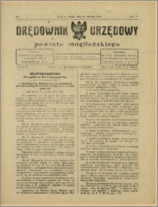 Orędownik Urzędowy Powiatu Mogileńskiego, 1928 Nr 8