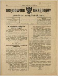 Orędownik Urzędowy Powiatu Mogileńskiego, 1928 Nr 14
