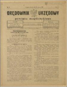 Orędownik Urzędowy Powiatu Mogileńskiego, 1928 Nr 24