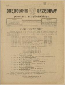 Orędownik Urzędowy Powiatu Mogileńskiego, 1928 Nr 25