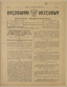 Orędownik Urzędowy Powiatu Mogileńskiego, 1928 Nr 30