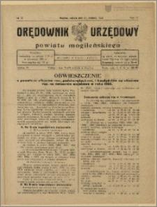 Orędownik Urzędowy Powiatu Mogileńskiego, 1928 Nr 32