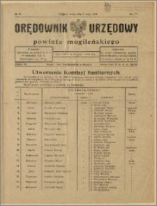 Orędownik Urzędowy Powiatu Mogileńskiego, 1928 Nr 35