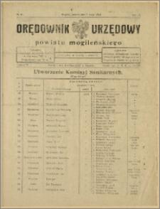 Orędownik Urzędowy Powiatu Mogileńskiego, 1928 Nr 36