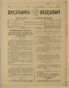 Orędownik Urzędowy Powiatu Mogileńskiego, 1928 Nr 39