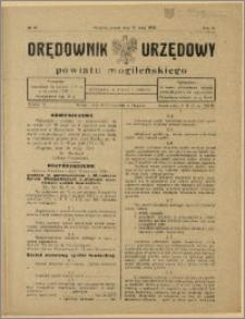 Orędownik Urzędowy Powiatu Mogileńskiego, 1928 Nr 40