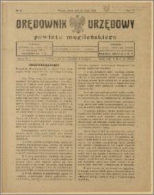 Orędownik Urzędowy Powiatu Mogileńskiego, 1928 Nr 43