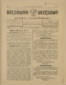 Orędownik Urzędowy Powiatu Mogileńskiego, 1928 Nr 44