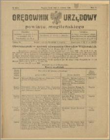 Orędownik Urzędowy Powiatu Mogileńskiego, 1928 Nr 46-47