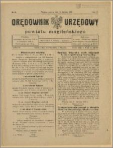Orędownik Urzędowy Powiatu Mogileńskiego, 1928 Nr 48