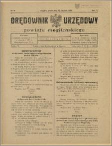 Orędownik Urzędowy Powiatu Mogileńskiego, 1928 Nr 50