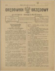 Orędownik Urzędowy Powiatu Mogileńskiego, 1928 Nr 52