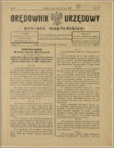 Orędownik Urzędowy Powiatu Mogileńskiego, 1928 Nr 59