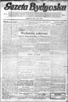 Gazeta Bydgoska 1922.07.02 R.1 nr 1