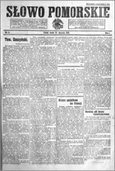 Słowo Pomorskie 1921.01.12 R.1 nr 8