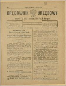 Orędownik Urzędowy Powiatu Mogileńskiego, 1928 Nr 61