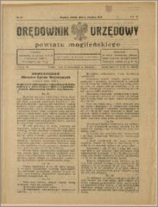 Orędownik Urzędowy Powiatu Mogileńskiego, 1928 Nr 62