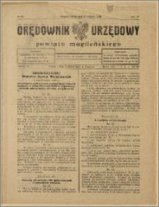 Orędownik Urzędowy Powiatu Mogileńskiego, 1928 Nr 63