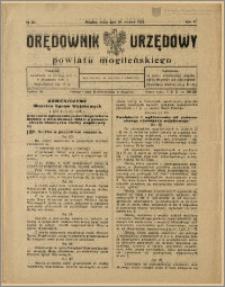 Orędownik Urzędowy Powiatu Mogileńskiego, 1928 Nr 65