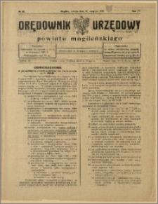Orędownik Urzędowy Powiatu Mogileńskiego, 1928 Nr 66