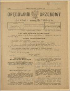 Orędownik Urzędowy Powiatu Mogileńskiego, 1928 Nr 68