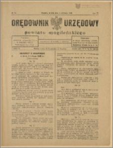 Orędownik Urzędowy Powiatu Mogileńskiego, 1928 Nr 70