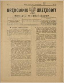 Orędownik Urzędowy Powiatu Mogileńskiego, 1928 Nr 72