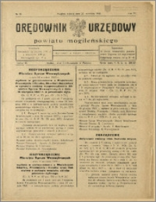Orędownik Urzędowy Powiatu Mogileńskiego, 1928 Nr 76
