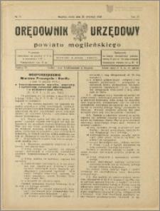 Orędownik Urzędowy Powiatu Mogileńskiego, 1928 Nr 77