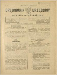 Orędownik Urzędowy Powiatu Mogileńskiego, 1928 Nr 79