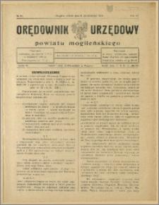 Orędownik Urzędowy Powiatu Mogileńskiego, 1928 Nr 80