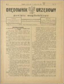 Orędownik Urzędowy Powiatu Mogileńskiego, 1928 Nr 82