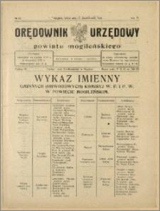 Orędownik Urzędowy Powiatu Mogileńskiego, 1928 Nr 83
