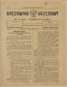 Orędownik Urzędowy Powiatu Mogileńskiego, 1928 Nr 86