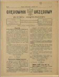 Orędownik Urzędowy Powiatu Mogileńskiego, 1928 Nr 88