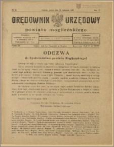Orędownik Urzędowy Powiatu Mogileńskiego, 1928 Nr 90